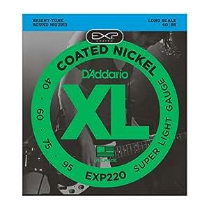 D'Addario ダダリオ ベース弦 EXPコーティング Long Scale .040-.095 EXP220 【国内正規品】