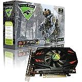 Viewmax Nvidia Geforce Gt 7302GB gddr3128ビットPCI Express ( PCIe ) DVIビデオカードHDMI & HDCPサポート* * * Warrior Edition * * *