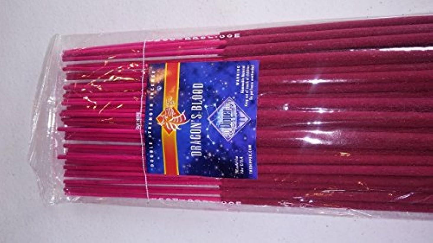 蒸下識別The Dipper Dragon 's Blood 19インチジャンボIncense Sticks – 50 Sticks