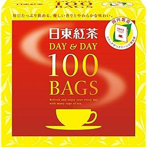 日東紅茶 DAY&DAY ティーバッグ 100袋入りの関連商品2
