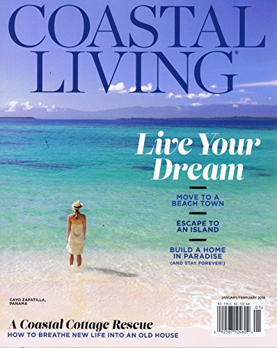 RoomClip商品情報 - Coastal Living [US] January - February 2018 (単号)