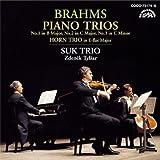 ブラームス:ピアノ三重奏曲第1番&第2番&第3番