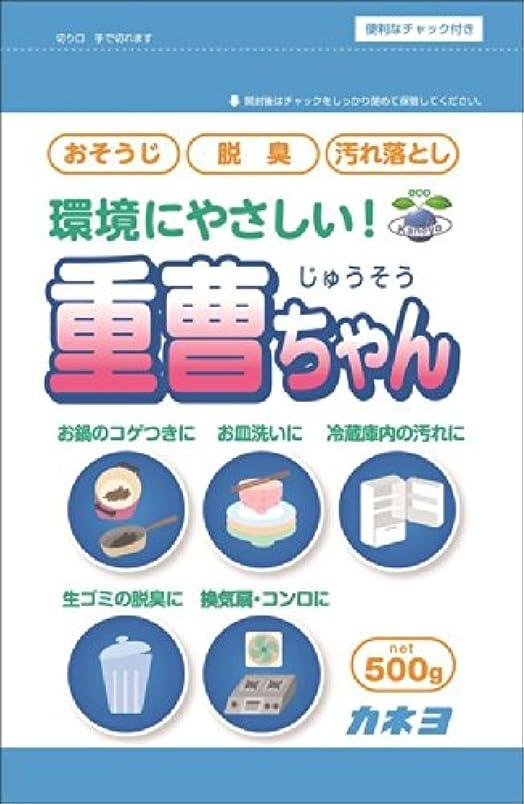 圧縮された困惑する階層カネヨ石鹸 重曹ちゃんSP 500g