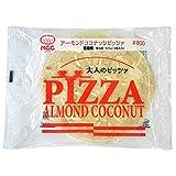 【冷凍】 業務用 MCC食品 アーモンド ココナッツ ピザ 125g (アーモンド/チーズ/ココナッツクリームソース) 冷凍 スイーツ ピザ