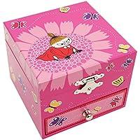 ムーミン オルゴールジュエリーボックス リトルミイ8470【moomin グッズ 宝石箱 引き出し 北欧 グッズ】