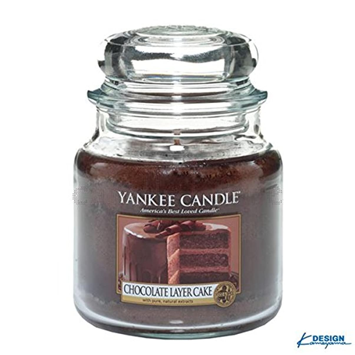 。それ効率的YANKEE CANDLEジャーM 「 チョコレートレイヤーケーキ 」