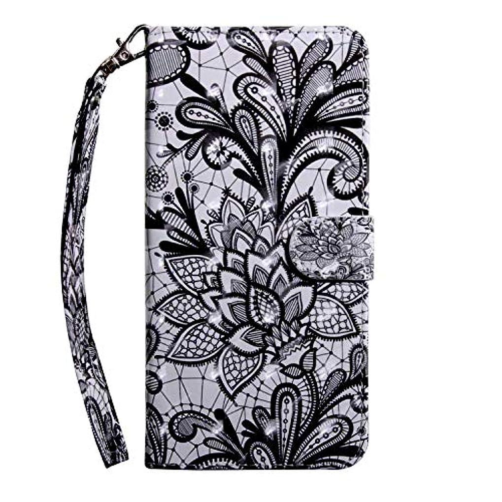 告白トレイル復活させるCUSKING Galaxy A8 ケース 手帳型 財布型カバー Galaxy A8 スマホカバー 磁気バックル カード収納 スタンド機能 サムスン ギャラクシ レザーケース –レース
