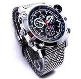 Axvalue HD高画質 カレンダー搭載 高級防水腕時計型 フルハイビジョンビデオ&カメラ 高解像度4032×3024 4GB内蔵1080Pレンズ ハイスペックモデル