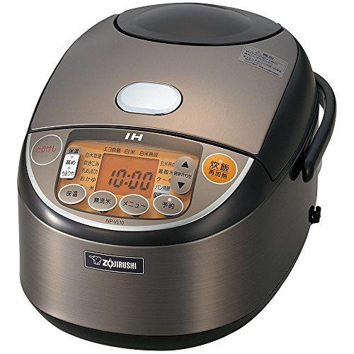 象印 IH炊飯器5.5合 ステンレス NP-VL10-TD...