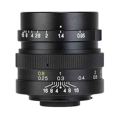 中一光学 (ZHONG YI OPTICS) 単焦点レンズ SPEEDMASTER 25mm F0.95  (マイクロフォーサーズ) (ブラック)