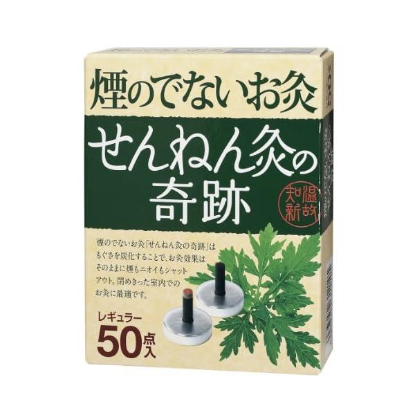 煙のでないお灸 せんねん灸の奇跡 レギュラー 50点入の商品画像