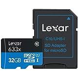 MicroSDカード32GB Lexar 95MB/s Class10 A1 U1対応 超高速UHS-I MicroSDXC 海外正規代理店保証品 (32GB)