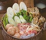 秋田・鹿角よりきりたんぽ鍋を伝えたい! 放し飼い比内地鶏のきりたんぽ鍋セット 3?5人前 冷蔵便