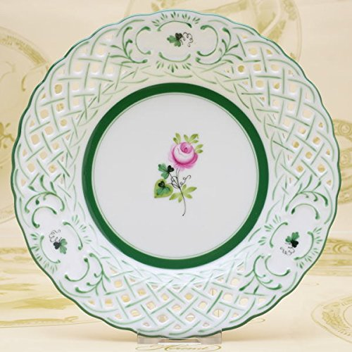 ヘレンド(Herend) 透かし彫り飾り皿(08437) ヘレ...