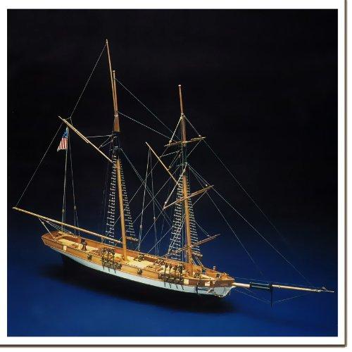 帆船模型キット リンクス (60分のリンクス製作DVD及び和訳付き)