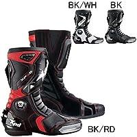 XPD(エックスピーディー) バイクブーツ ブラック/レッド (サイズ:27.5cm/43) XP-3S XPN018