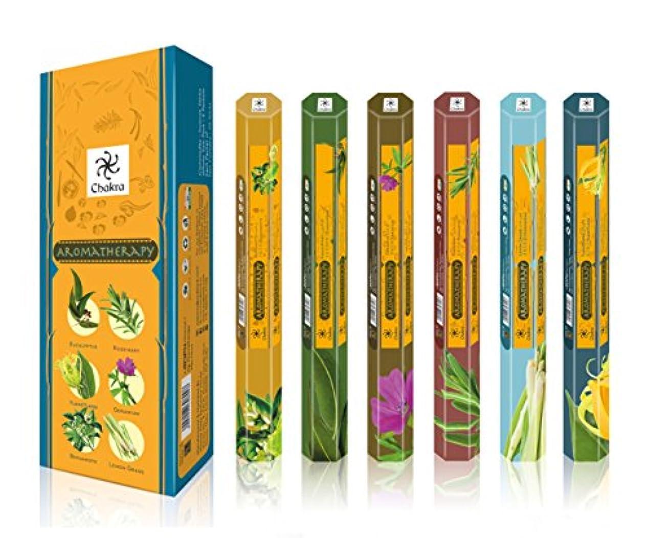 胃枯れる穏やかなアロマセラピーナチュラルフレグランス香りつきSticks – 促進健康とWell being- 20 Incense Sticks Perボックス – Long Lasting 120 Fragrance Sticks – パックof 6