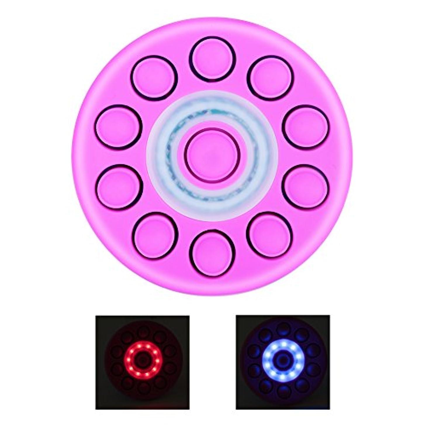 改善する声を出して晩餐女性胸マッサージリフティング加熱胸マッサージ(紫の)