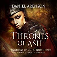 Thrones of Ash (Kingdoms of Sand Series Book 3)【洋書】 [並行輸入品]