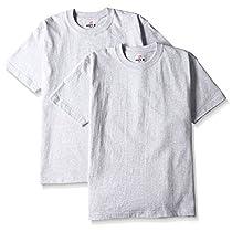 (ヘインズ)Hanes Tシャツ BEEFY  2枚組 H5180-2 060 ヘザーグレー XL