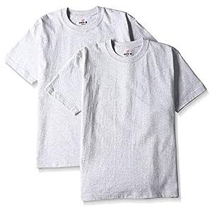 (ヘインズ) Hanes Tシャツ ビーフィー BEEFY 2枚組 H5180-2 060 ヘザーグレー S