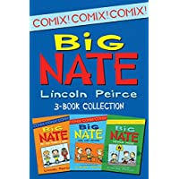 Big Nate Comics 3-Book Collection: What Could Possibly Go Wrong?, Here Goes Nothing, Genius Mode (Big Nate Comix) (English Edition)