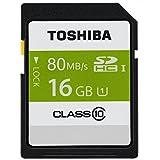 Toshiba SDHC カード 東芝 16GB class10 UHS-I 【バルク品】