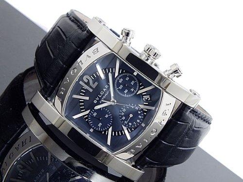 [ブルガリ] BVLGARI 腕時計 アショーマ AA48C14SLDCH ブルー メンズ [並行輸入品]