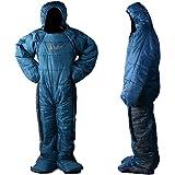 MAXSOINS公式ショップ 人型寝袋 シュラフ 動ける寝袋 冬用 [適応身長150cm~170cm 160cm~180cm] 男女兼用 2サイズ