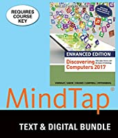 Enhanced Discovering Computers 2017 + Lms Integrated Mindtap Computing, 2 Terms 12 Months Access Card