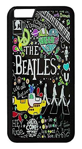 【The Beatles】ザ・ビートルズ タイトルイラスト iPhone6Plus/ iPhone6s Plus ハードカバー [並行輸入品]