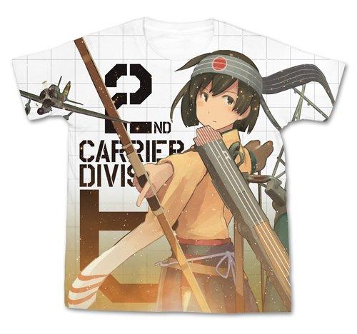 艦隊これくしょん -艦これ- 飛龍改二フルグラフィックTシャツ ホワイト Mサイズ