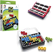 SmartGames IQ Twist, a Travel Game for Kids and Adults, a Cognitive Skill-Building Brain Game - Brain Teaser f