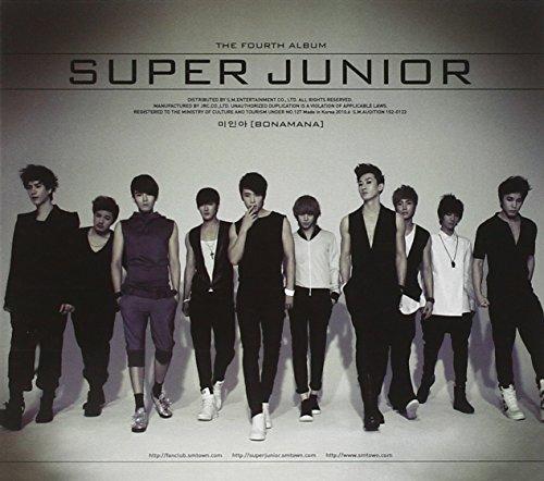 Super Junior 4集 - ミイナ [Bonamana] (リパッケージ)(韓国盤)