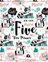 2020-2024 5 Year Planner: Five Years 60 Months Calendar Monthly Planner Schedule Organizer For To Do List Academic Schedule Agenda Logbook Or Student Teacher Organizer Journal Notebook Business Appointment W/ Holidays | Happy Cat Calligraphy (Daily Weekly Monthly Planners W/ Holidays)