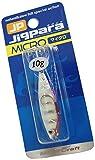 メジャークラフト メタルジグ ジグパラマイクロ JPM-10g #7ゼブラグロー  #7 ZEBRA GLOW 10g