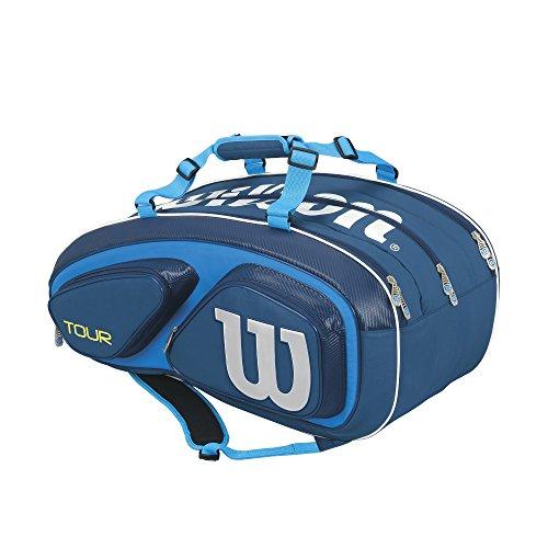 Wilson(ウイルソン) テニス バドミントン ラケットバッグ TOUR V 15 (ツアーV 15) ラケット15本収納可能