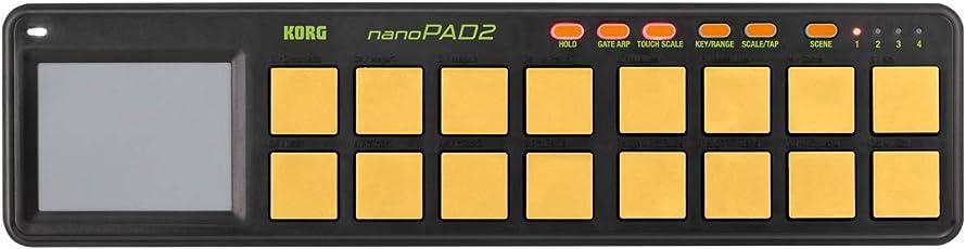 KORG コルグ / nanoPAD2 ORGR SLIM-LINE USB CONTROLLER MIDIコントローラー