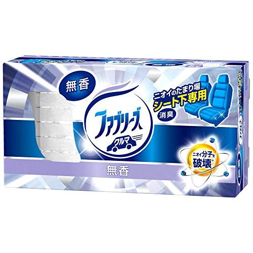 ファブリーズ 消臭芳香剤 クルマ用 置き型 無香タイプ 本体 130g