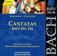 Bach;Cantatas Bwv.193,194