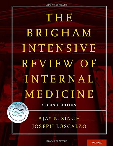 Download The Brigham Intensive Review of Internal Medicine 0199358273