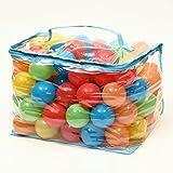 D-drempating 子供 ボールハウス プール セフティー カラーボール 5色 レッド/イエロー/ブルー/グリーン/オレンジ 優しい 直径 5.5cm 100個入り 200個入り 選択 (200個 入り)pa008