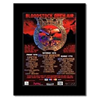 BLOODSTOCK FESTIVAL - 2008 - Opeth Nightwish Mini Poster - 28.5x21cm