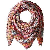 Collection XIIX Women's Textured Plaid Square Wrap
