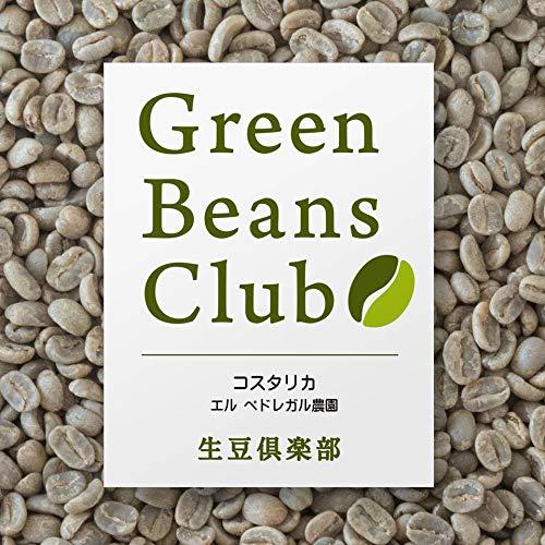 生豆倶楽部 コーヒー生豆 プレミアム コスタリカ エル ペドレガル農園 生豆1kg プロのコーヒー豆をご家庭で焙煎Green Beans Club