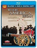 Where America Began: Jamestown Colonial Williamsburg & Yorktown Blu-ray Combo Pack【DVD】 [並行輸入品]