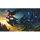 MTG Playmat Artists of Magic Premium – NYX GREEK GODDESS Autographed by the Artist Alyna Lemmer