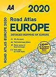 Road Atlas Europe 2020 (AA Road Atlas Europe) 画像