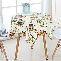 CIHSEWETA 防塵テーブル クロス長方形/楕円形厚く綿汚