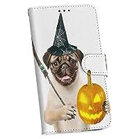 igcase Galaxy Feel2 SC-02L 専用ケース 手帳型 スマホカバー カバー ケース ハロウィン 犬 動物 013835